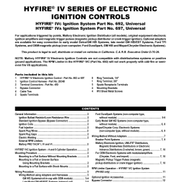 mallory ignition mallory hyfire iv series ignition system 692 697 rh manualsdir com mallory hyfire wiring [ 954 x 1235 Pixel ]