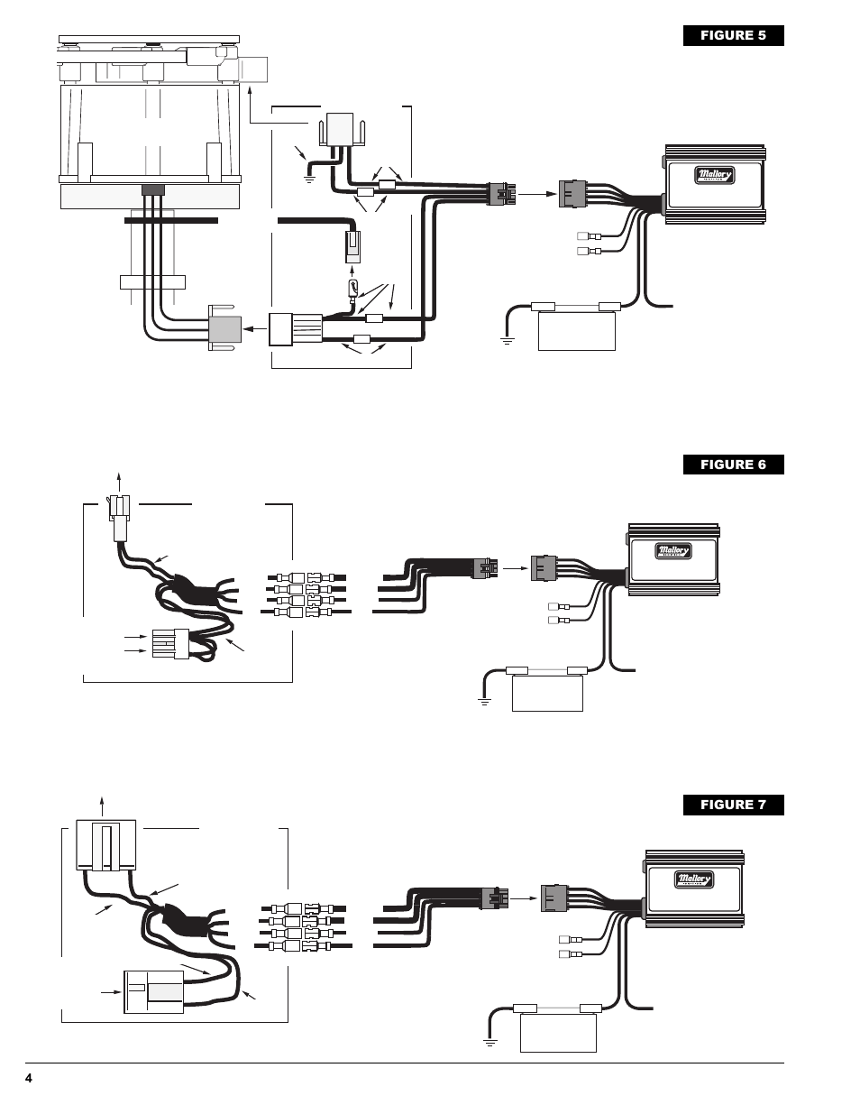 mallory ignition wiring diagram 4 lead ekg placement gm/delco hei distributor, ford tfi systems, gm hei/est distributor - external coil ...