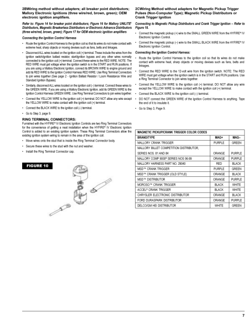 small resolution of  mallory hyfire iv electrical wiring diagram symbols on distributor ignition wiring diagram msd ignition