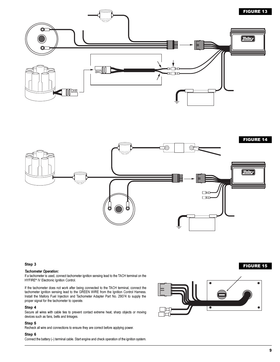 hight resolution of mallory ignition distributor wiring diagram unilite distributor wiring for a gma wiring library mallory distributor