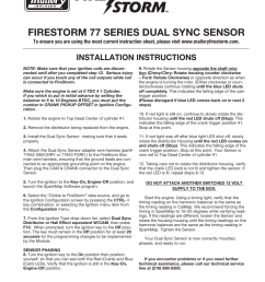 mallory ignition mallory firestorm 77 series dual sync sensor usermallory ignition mallory firestorm 77 series dual [ 954 x 1235 Pixel ]