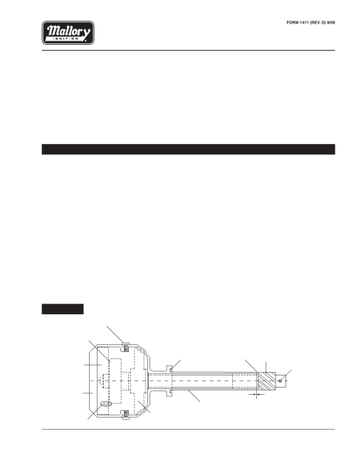 small resolution of mallory ignition mallory unilite distributor 556 user manual 2 pages basic ignition wiring diagram mallory unilite wiring diagram for motorcycle