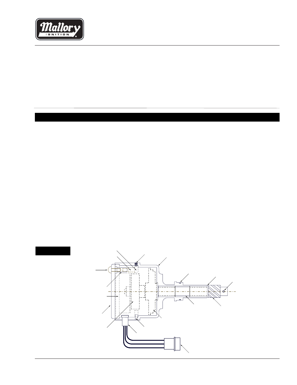 Mallory Comp 9000 Distributor To Msd Ignition Wiring Diagram Wire Electronic Unilite 42 Basic Crane