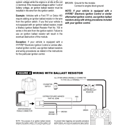 review wiring procedure distributor wire harness coil mallory ignition mallory magnetic breakerless ignition module 609 user manual page 3 4 [ 954 x 1475 Pixel ]