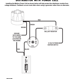 mallory distributor wiring diagram mallory ignition mallory distributor with power cell 611m ford [ 954 x 1235 Pixel ]
