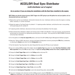 Accel Ignition Wiring Diagram For Two Way Switch Uk Coil Best Library Dfi Gen 6 30 Images