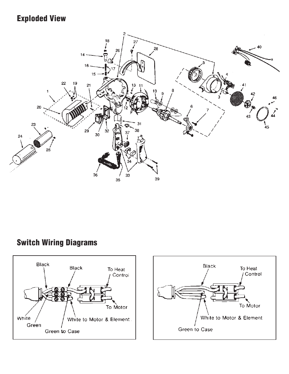 home electrical switch wiring diagrams