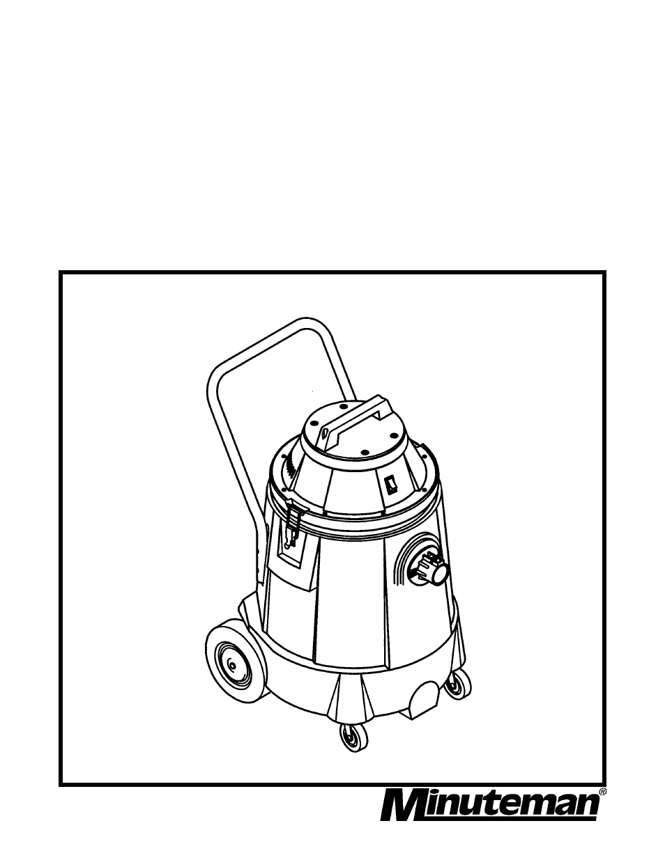 Minuteman C82940-00 Critical Filter Vacuum User Manual