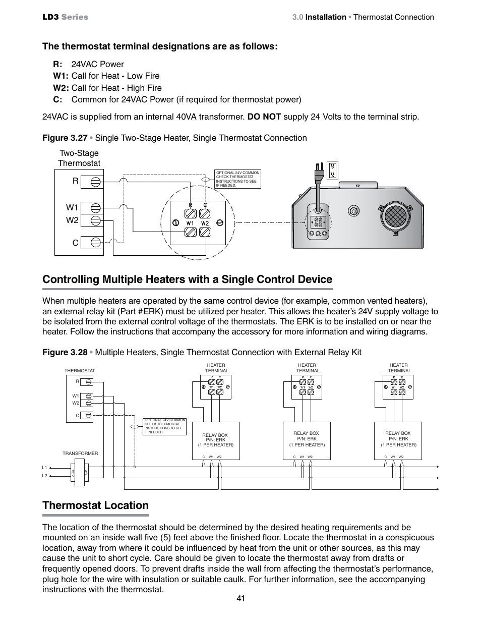 medium resolution of thermostat location cr w1 w2 two stage thermostat detroit radiant products company ld3