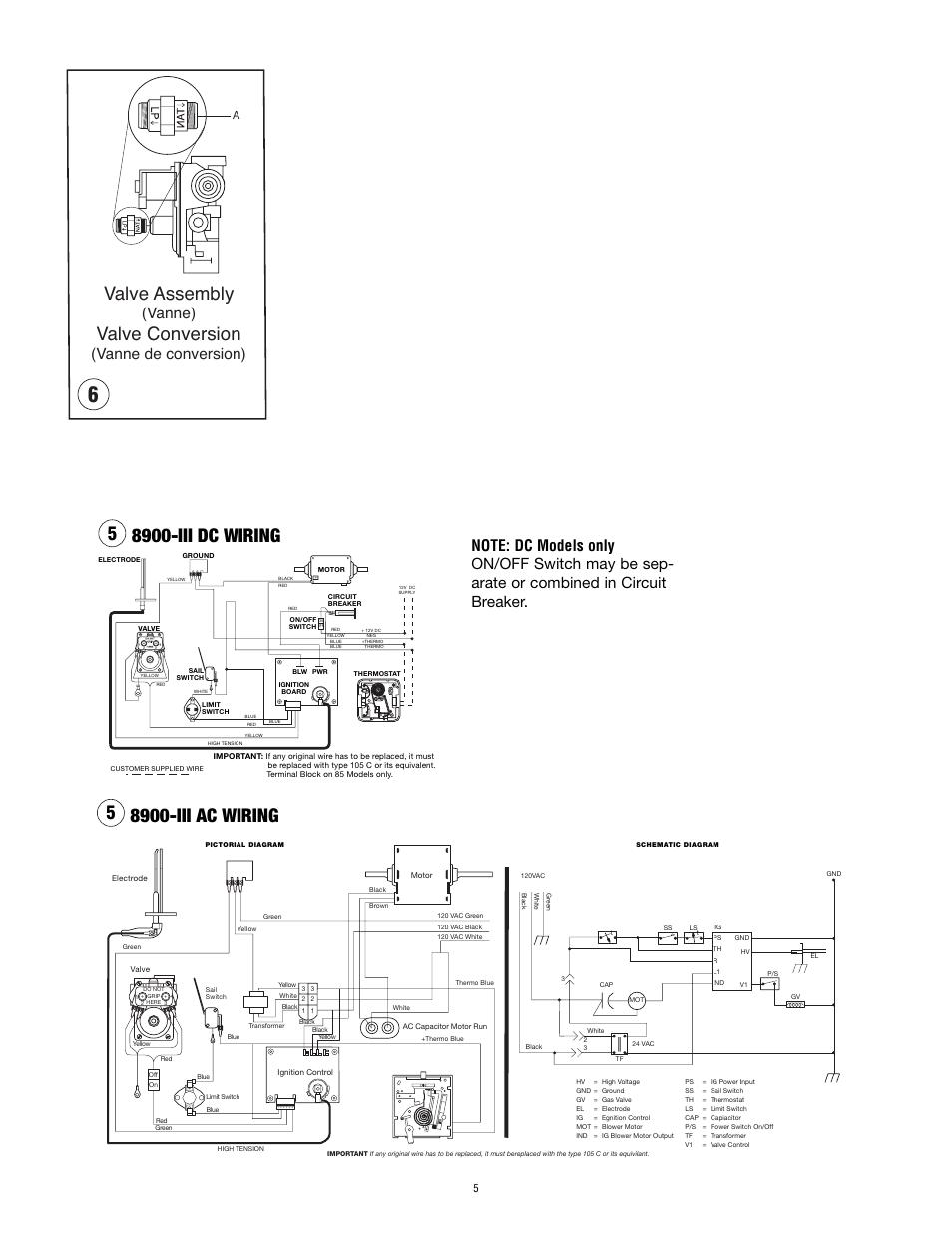 medium resolution of valve assembly valve conversion vanne vanne de conversion atwood mobile