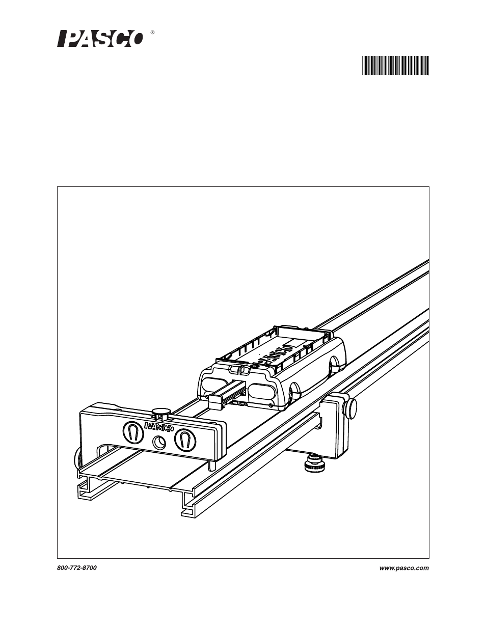 PASCO ME-6956 2.2 m PAScar Dynamics System User Manual