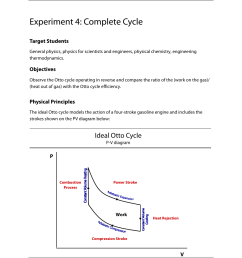 experiment 4 complete cycle ideal otto cycle pasco td 8565 adiabatic gas law apparatus user manual page 16 25 [ 954 x 1235 Pixel ]