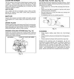 maintenance poulan pro pb145g38 lawn tractor user manual page 17 56 [ 954 x 1235 Pixel ]
