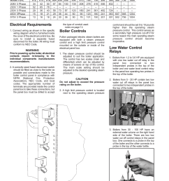 installation electrical requirements boiler controls fulton electric fb l steam boiler user manual page 18 46 [ 954 x 1235 Pixel ]