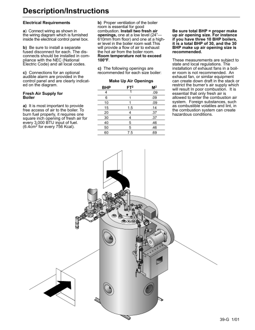 small resolution of description instructions fulton edge icx or fb f vertical tubeless boilers steam gas fired user manual page 46 102