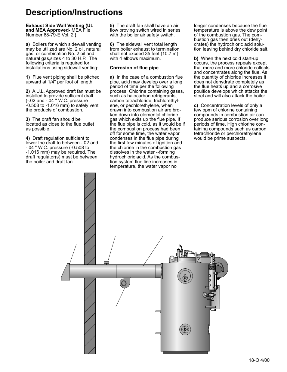 hight resolution of description instructions fulton classic icx or fb f vertical tubeless boilers steam oil fired user manual page 26 76
