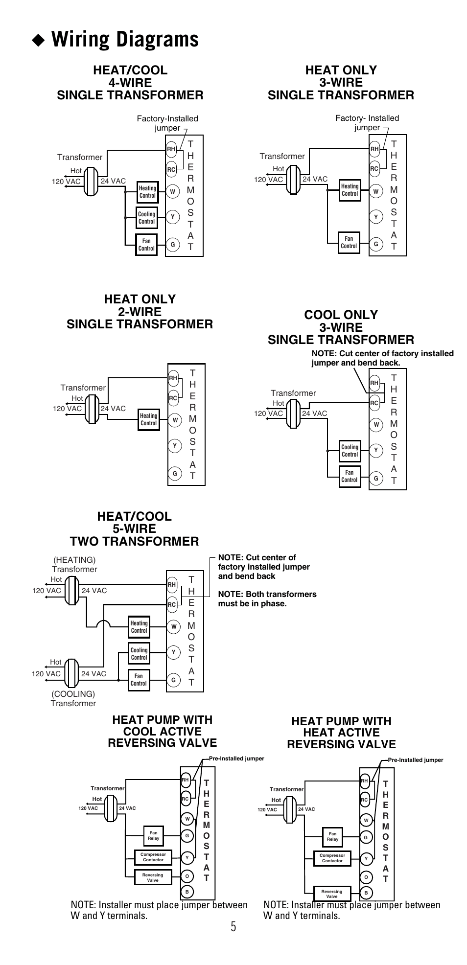 medium resolution of wiring diagrams heat pump with cool active reversing valve heat pump with heat active