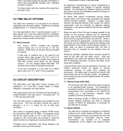 0 time delay options 0 circuit description 0 installation and electrical connection general ronan x90 series user manual page 5 20 [ 954 x 1235 Pixel ]