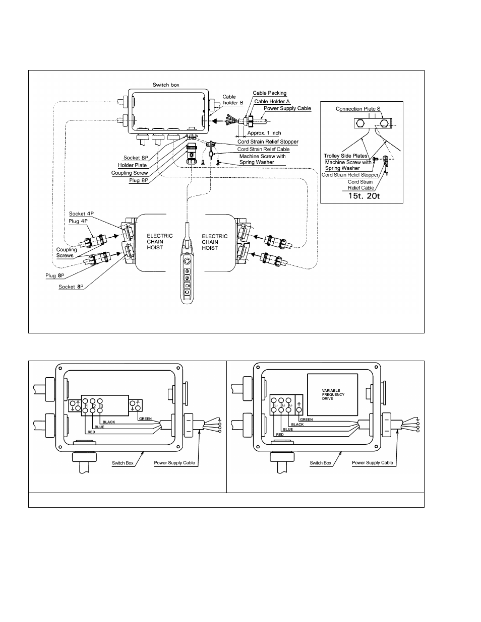 hight resolution of harrington hoists and cranes mr trolley mr2 user manual page