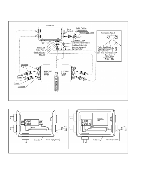 small resolution of harrington hoists and cranes mr trolley mr2 user manual page