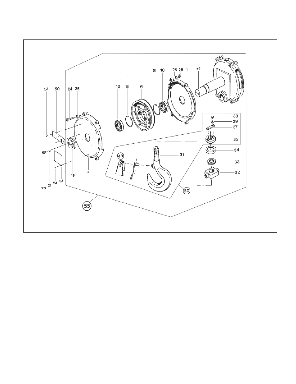 [WRG-4274] Wire Rope Hoist Wiring Diagram