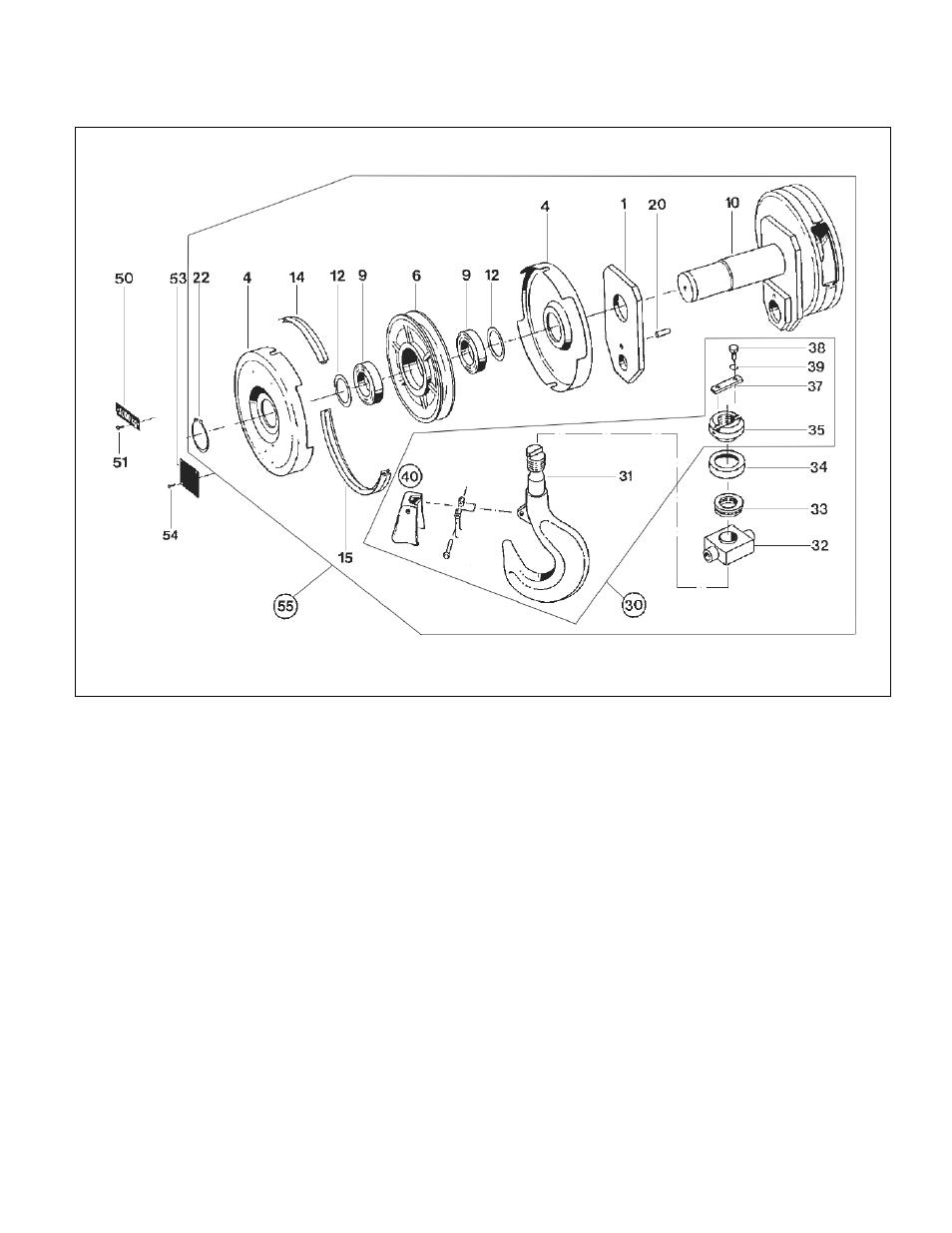 medium resolution of harrington hoists and cranes rhn rhino wire rope hoist user manual page 91 112