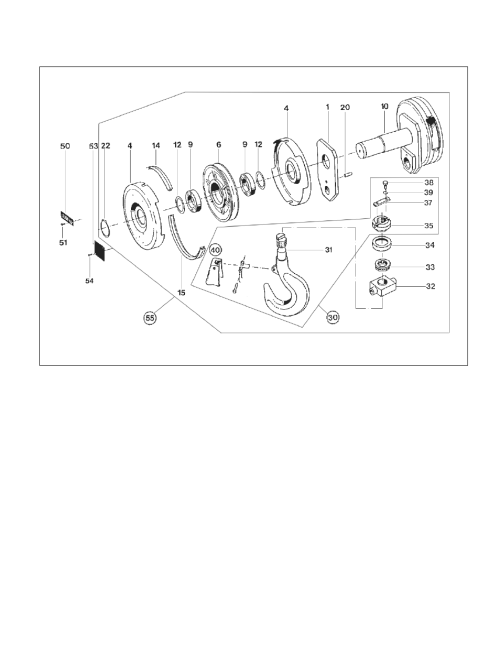 small resolution of harrington hoists and cranes rhn rhino wire rope hoist user manual page 91 112