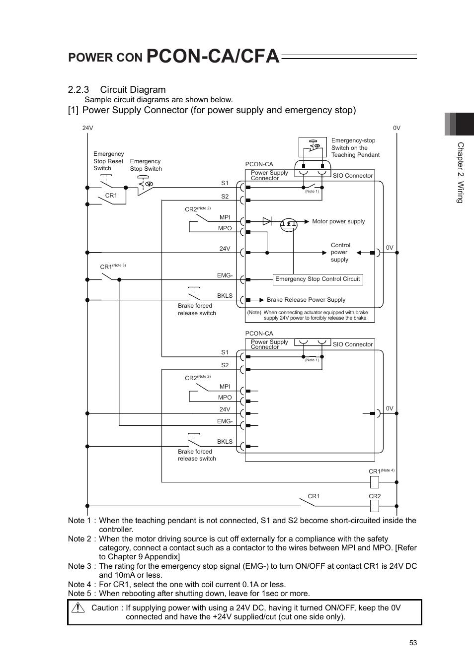 hight resolution of pcon ca cfa power con 3 circuit diagram iai america pcon ca user manual page 61 296