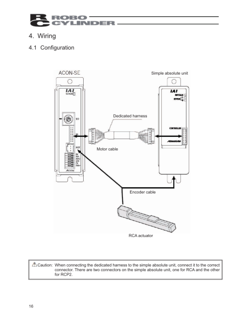 small resolution of wiring 1 configuration iai america pcon abu user manual page 34 60