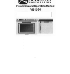 audiovox manuals free with audiovox manuals on prestige remote car starter diagram audiovox alarm wiring  [ 954 x 1235 Pixel ]