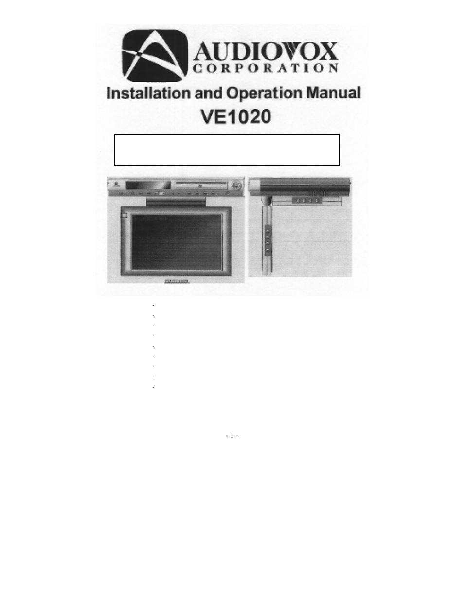 medium resolution of audiovox manuals free with audiovox manuals on prestige remote car starter diagram audiovox alarm wiring