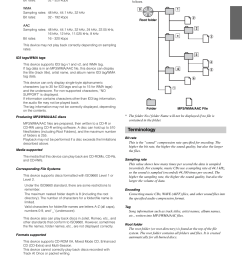 terminology alpine cde 102 user manual page 13 31 original mode rh manualsdir com wire harness alpine cde 9881 alpine cde 100 wiring diagram [ 954 x 1348 Pixel ]
