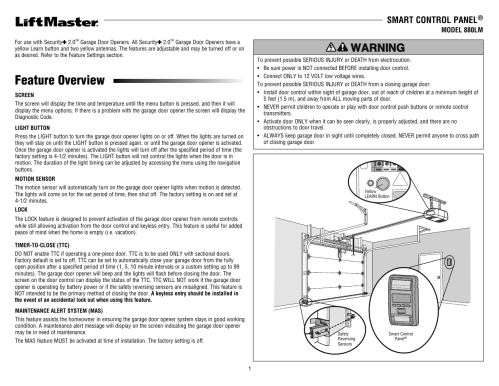 small resolution of lift master garage door opener diagram