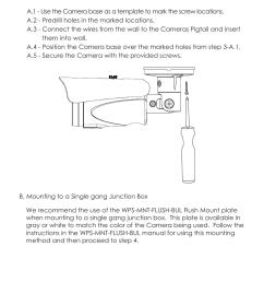 staub electronics wps 550 bul a wirepath surveillance 550 series bullet analog outdoor camera with ir 600 tvl user manual page 8 30 [ 954 x 1354 Pixel ]