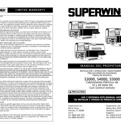superwinch s4000 winch wiring diagram [ 1235 x 954 Pixel ]