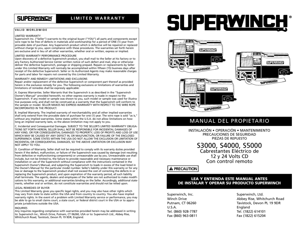 medium resolution of superwinch s4000 winch wiring diagram