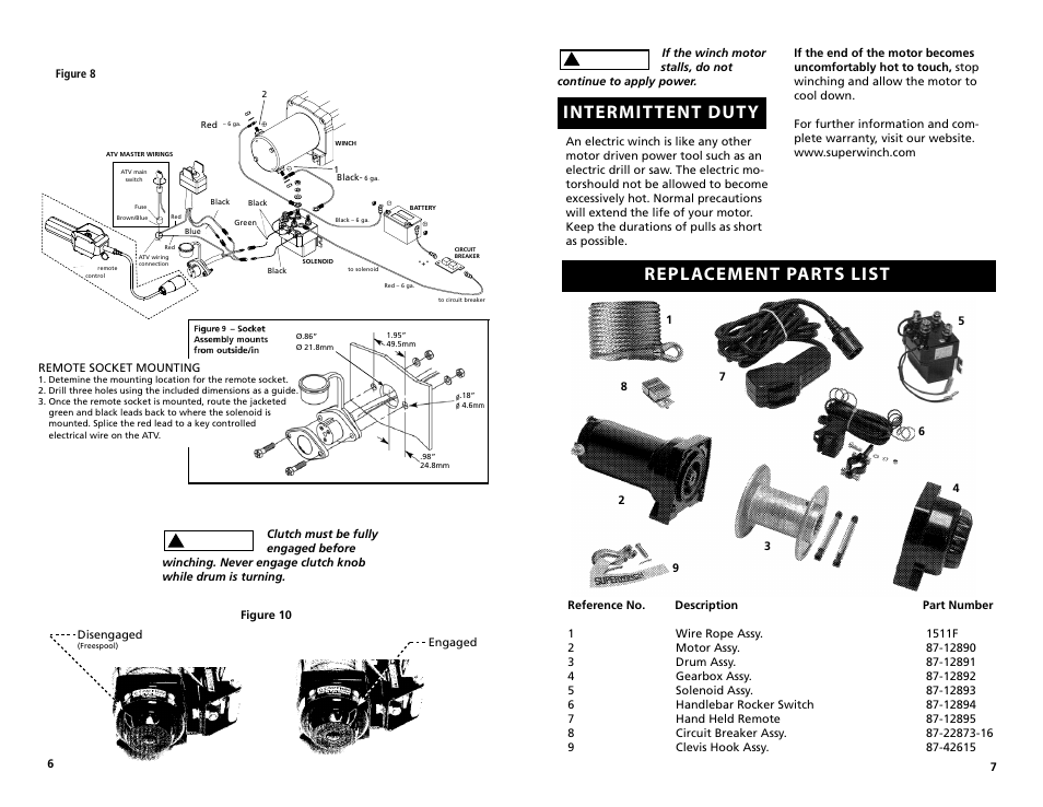 Superwinch Lt3000 ATV Wiring Diagram. ATV. Wiring Diagrams