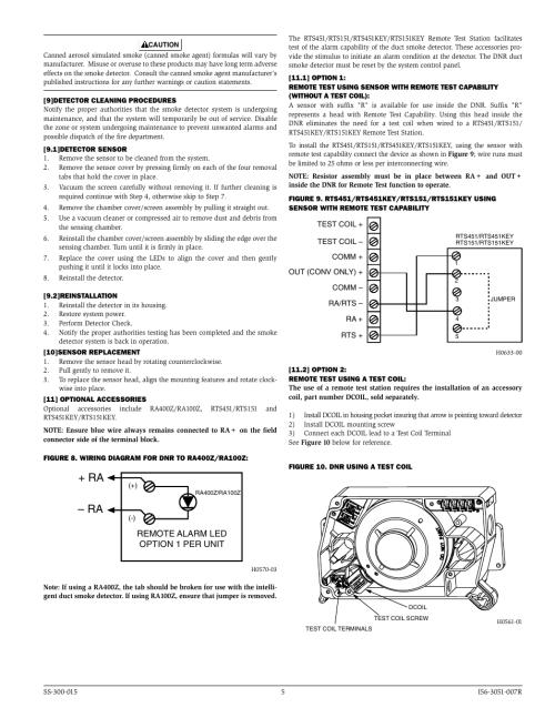 small resolution of ra ra system sensor dnr user manual page 5 6 system sensor p2r wiring diagram system sensor wiring diagram