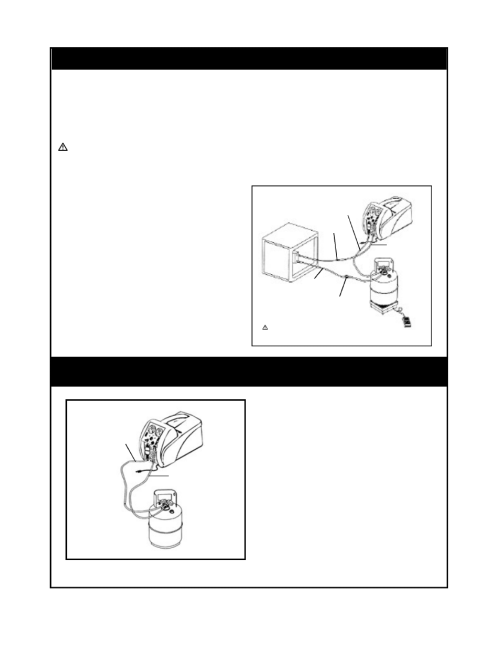 small resolution of diagram for push pull method tif rg5410a refrigerant recovery machine user manual page 13 23