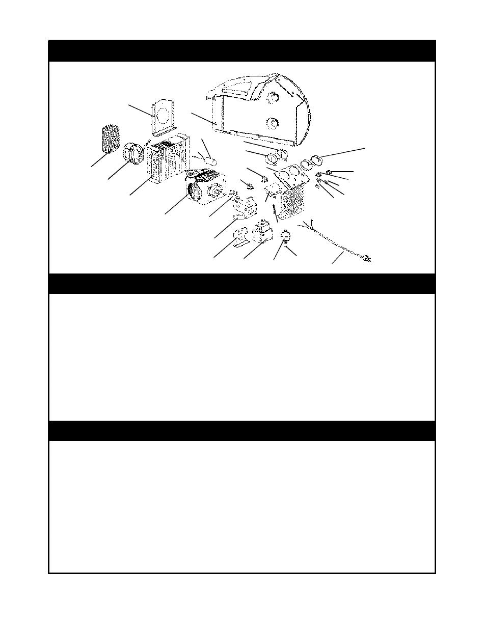 Rg5410a diagram replacement kits & accessories, Rg5410a