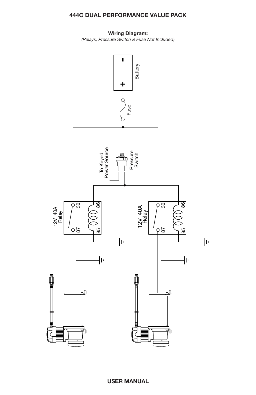 viair dual compressor wiring