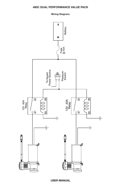 small resolution of dual c model compressor wiring diagram viair 480c dual user manual page