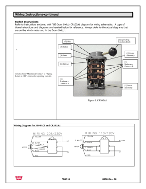 Wiring instructionscontinued | WARN 3000 ACI User Manual | Page 11  144