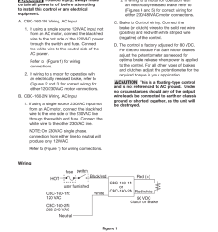 warner electric cbc 160 2n user manual page 3 6 also for cbc 160 1n [ 954 x 1235 Pixel ]