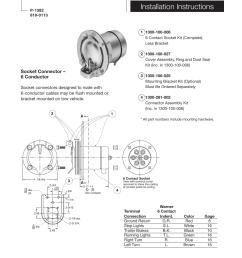warner electric electric socket assembly installation user manualwarner electric electric socket assembly installation user manual 2 [ 954 x 1235 Pixel ]