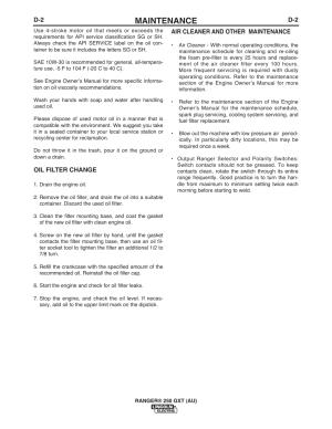 [WRG4838] Lincoln Ranger 250 Gxt Repair Manual