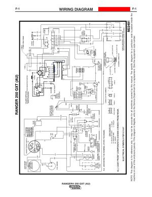 Wiring diagram | Lincoln Electric IM10052 RANGER 250 GXT