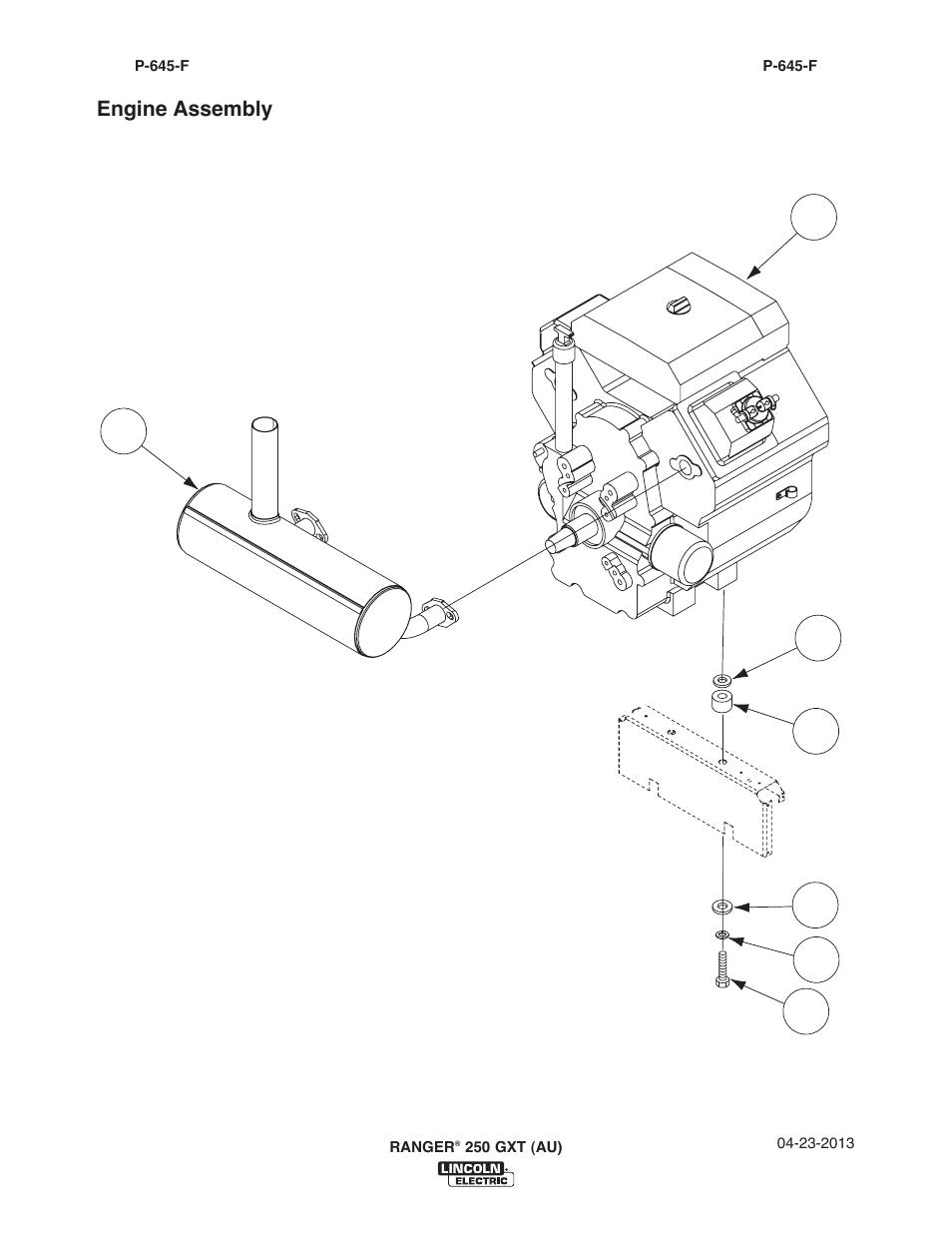 Lincoln Electric IM10052 RANGER 250 GXT (AU) User Manual