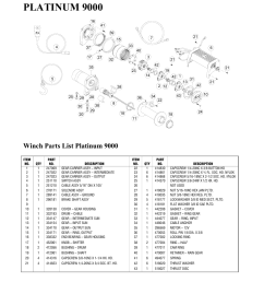 platinum 9000 winch parts list platinum 9000 ramsey winch plat 9000 user manual [ 954 x 1235 Pixel ]