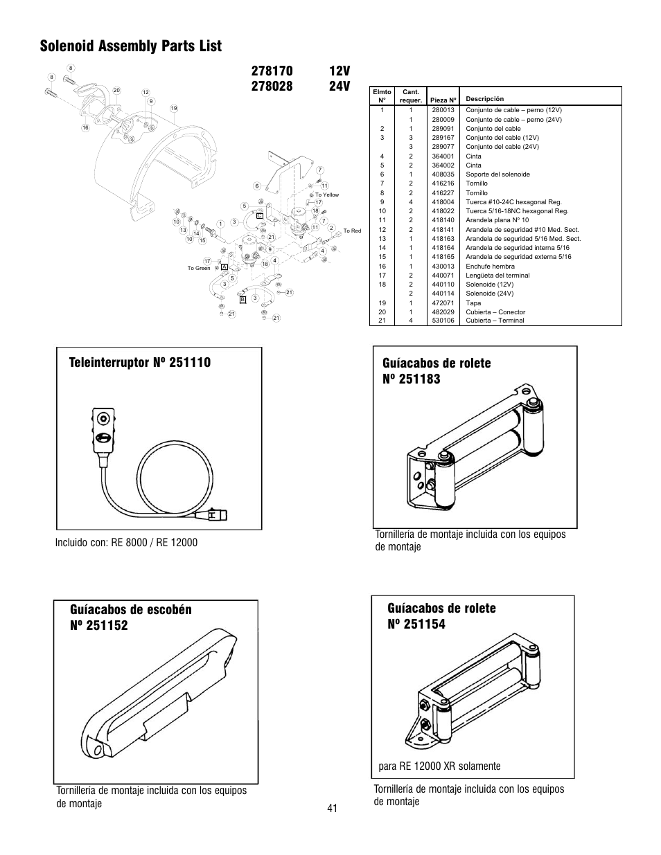 Ramsey Winch Parts List Free Download • Oasis-dl.co
